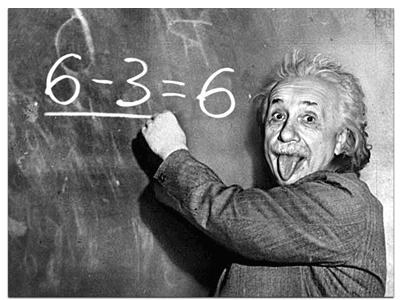 Einstein, La téorie et la pratique