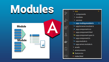 Modules avec Angular