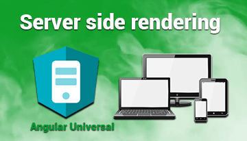 Server Side rendering with Angular universal 11